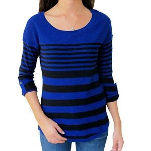 Gorgeous new 3 quarter button sleeve sweater